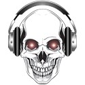 Red Eye DJ Skull