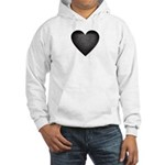 Heart of Stone Anti Valentine's Day Hooded Sweatsh