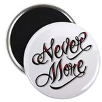 """Never More Anti Love Tattoo 2.25"""" Magnet (10 pack)"""