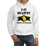 2-27 Infantry Wolfhounds Hooded Sweatshirt