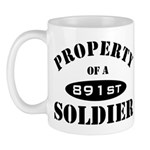 Property of a 891st Soldier Mug