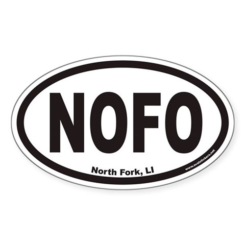 bumper stickers for the north fork of LI