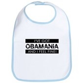 I've Got Obamania! Bib