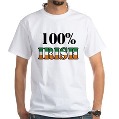 100 Percent Irish T-Shirts White T-Shirt