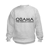 Logical Obama Kids Sweatshirt