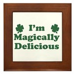 I'm Magically Delicious Framed Tile