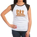 Chicken Dance Women's Cap Sleeve T-Shirt