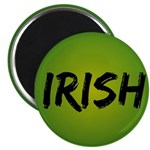 "Irish Handwriting 2.25"" Magnet (10 pack)"
