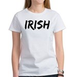 Irish Handwriting Women's T-Shirt