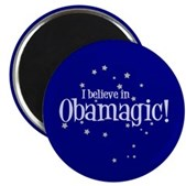 I Believe in Obamagic Magnet