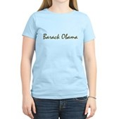 Script Barack Obama Women's Light T-Shirt