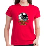 Women's Dark T-Shirt : Sizes S,M,L,XL,2XL  Available colors: Black,Red,Caribbean Blue,Violet