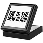 Fat Is The New Black Funny T-Shirts & Gifts Keepsake Box