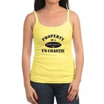 Property of US Coastie Jr. Spaghetti Tank