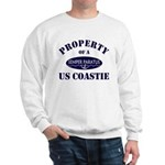 Property of US Coastie Sweatshirt
