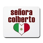 Isn't Esteban Colberto dreamy? You've seen him on the Colbert Report & el Colberto Reporto Gigante. Getcha some Senora Colberto gear, show the world how much ya love him! Colbertocrats! Chicas!