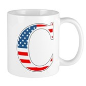 C stands for Colbert Mug
