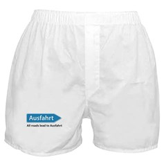 All roads lead to Ausfahrt Boxer Shorts