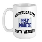 Bachelorette Party Weekend Large Mug