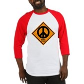 Peace Ahead Baseball Jersey