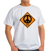 Peace Ahead Light T-Shirt