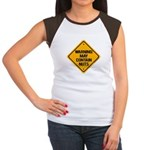 May Contain Nuts! Women's Cap Sleeve T-Shirt