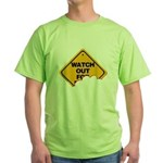 Watch Out! Green T-Shirt