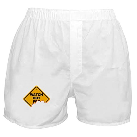 Watch Out (2) Boxer Shorts