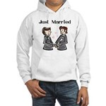 2 Grooms Hooded Sweatshirt