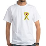 Keep My Dad Safe OEF White T-Shirt