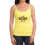 Everyone loves a Fat girl Jr. Spaghetti Tank