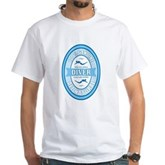 100% Genuine Diver White T-Shirt