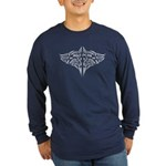 Nga Puhi Moko Long Sleeve Dark T-Shirt