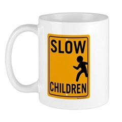 Slow Children Mug