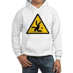Warning: Clumsy! Hooded Sweatshirt