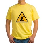 Warning: Clumsy! Yellow T-Shirt