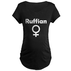 Ruffian Maternity Dark T-Shirt