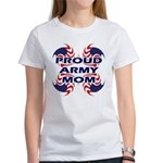Proud Army Mom - Military Sup Women's T-Shirt