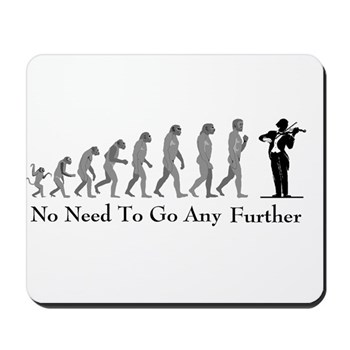 Violinist Mousepad - Evolustion