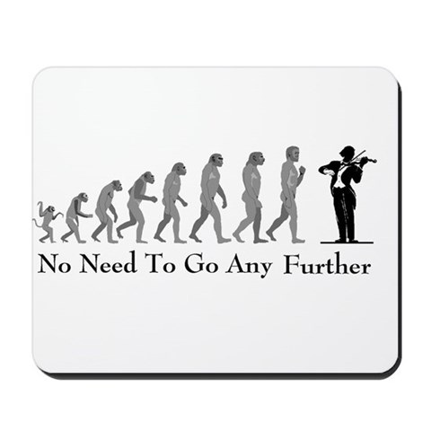Violinist Mouse Pad