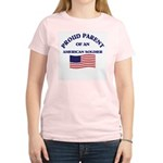 Proud Parent American Soldier Women's Pink T-Shirt