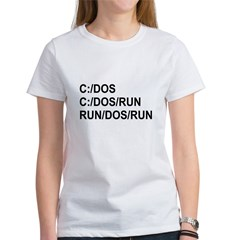 See DOS Run Women's T-Shirt