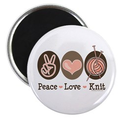 Knit Knitting Gift T shirts More Magnet