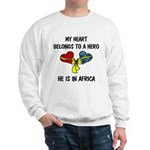 Navy Hero Africa Sweatshirt