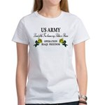 US Army OIF My soldier is brave Women's T-Shirt
