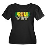 Proud Vietnam Veteran Vet Women's Plus Size Scoop