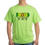 Proud Vietnam Veteran Vet Green T-Shirt