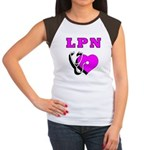 LPN Care Women's Cap Sleeve T-Shirt