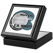 Where's My Commemorative Quarter? Keepsake Box