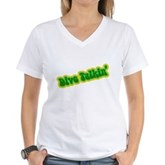Dive Talkin' Women's V-Neck T-Shirt